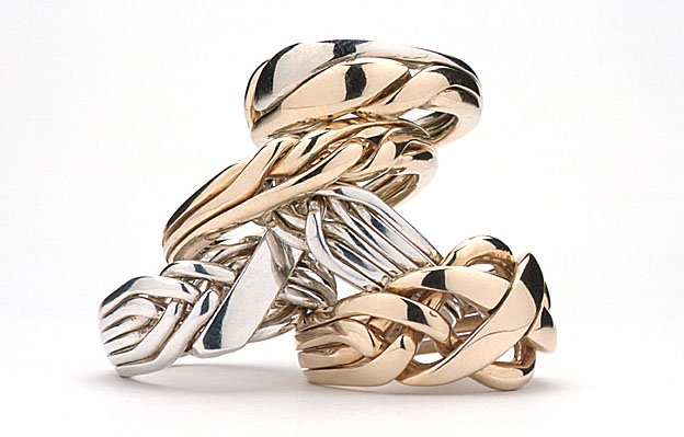 rings in product lyst stone minkoff rose pink jewelry normal rebecca goldblack puzzle