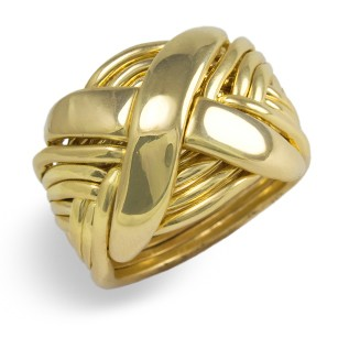 12NX Men's 18K Yellow Gold