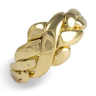 4C1 Ladies 14K Yellow Gold