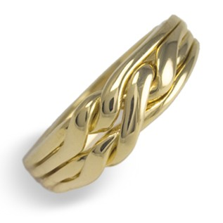 4CHWB Ladies 14K Gold