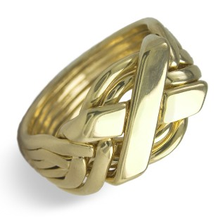 6N Men's 14K Yellow Gold