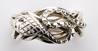 7S Men's Sterling Silver