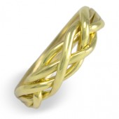 4WB Men's 18K Yellow Gold