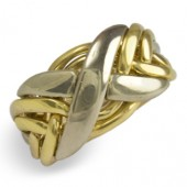 6NX Men's 18K Yellow Gold