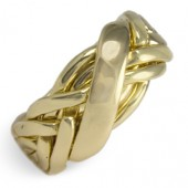 6WBD Men's 14K Yellow Gold