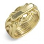 7WA Ladies 14K Yellow Gold