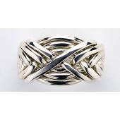 8WA Men's Sterling Silver