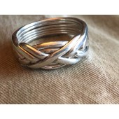 6WB Men's Sterling Silver