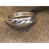 3CH Men's Sterling Silver